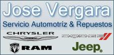 Repuestos Chrysler, Dodge, Jeep, Jose Vergara