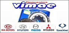 Repuestos Hyundai, Kia, Mazda, Ssangyong, Mitsubishi, Vimae