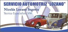 Taller Mecanico Volkswagen Repuestos, Servicio Tecnico, Lozano