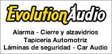 Alarmas, Laminas, Tapicería, Alzavidrio, Car Audio, Evolution Audio