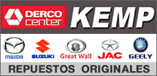 Repuestos Mazda, Suzuki, Great Wall, Geely, Jac, Kemp