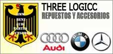 Repuestos Mercedes Benz, Audi, BMW,  3 Logos