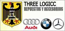 Repuestos Mercedes Benz, Audi, BMW,  3 Logos