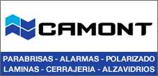 Parabrisas, Vidrios, Llaves con Chip, Alzavidrios  y Cierre Centralizado, Camont