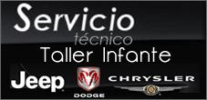 Servicio Tecnico Jeep, Chrysler, Dodge, Taller Infante