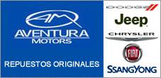Repuestos Fiat, Ssangyong, Chrysler, Jeep, Dodge, Aventura Motors