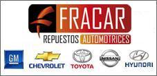 Venta de Repuestos Chevrolet, Toyota, Nissan, Fracar Repuestos