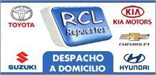 Repuestos Peugeot, Hyundai,  RCL Repuestos