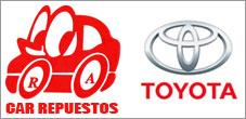 Repuestos Toyota Originales y Alternativos, Car Repuestos