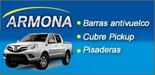 Barras Antivuelco, Cubre Pick up, Pisadera para Camionetas, Escapes Armona
