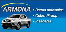 Barras Antivuelco, Cubre Pick up, Pisadera para Camionetas, Escapes Armona