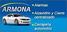 Alarmas para Autos, Alzavidrios y Cierre Centralizado, Armona Escapes