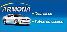 Cataliticos para Vehiculos y Tubos de Escape, Armona Escapes