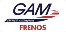 Frenos Reparacion, Mantencion, Repuestos para Vehiculos, Gam