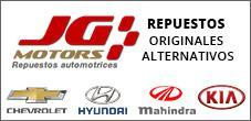Repuestos Originales y Alternativos Mahindra, Hyundai y Kia, JG Motors