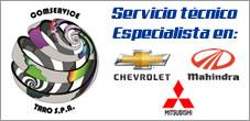 Servicio Tecnico Especializado Mahindra, Chevrolet, Mitsubishi, Comservice Taro
