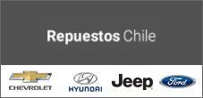 Repuestos Chevrolet, Hyundai, Jeep, Ford en Repuestos Chile