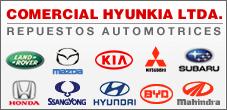 Repuestos Mazda, Ssangyong, Honda, Hyunkia, Kia, Subaru, Hyunkia