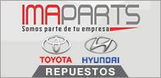 Repuestos Hyundai, Repuestos Toyota, Imaparts SPA