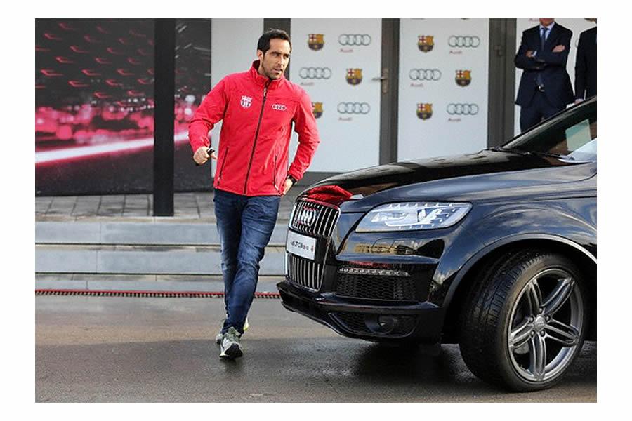 photo of Claudio Bravo Audi - car