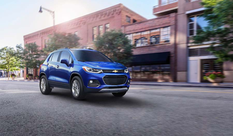 All New Chevrolet Tracker 5