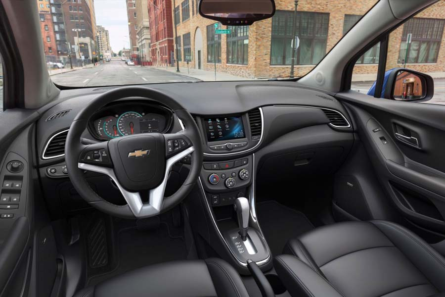 All New Chevrolet Tracker Interior