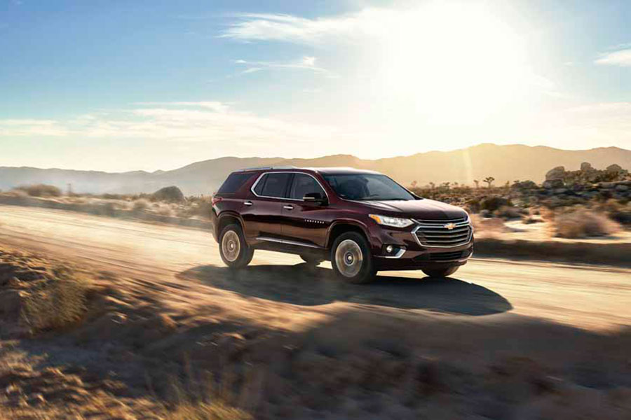 All New Traverse de Chevrolet, llegó a Chile y regresa plenamente renovada