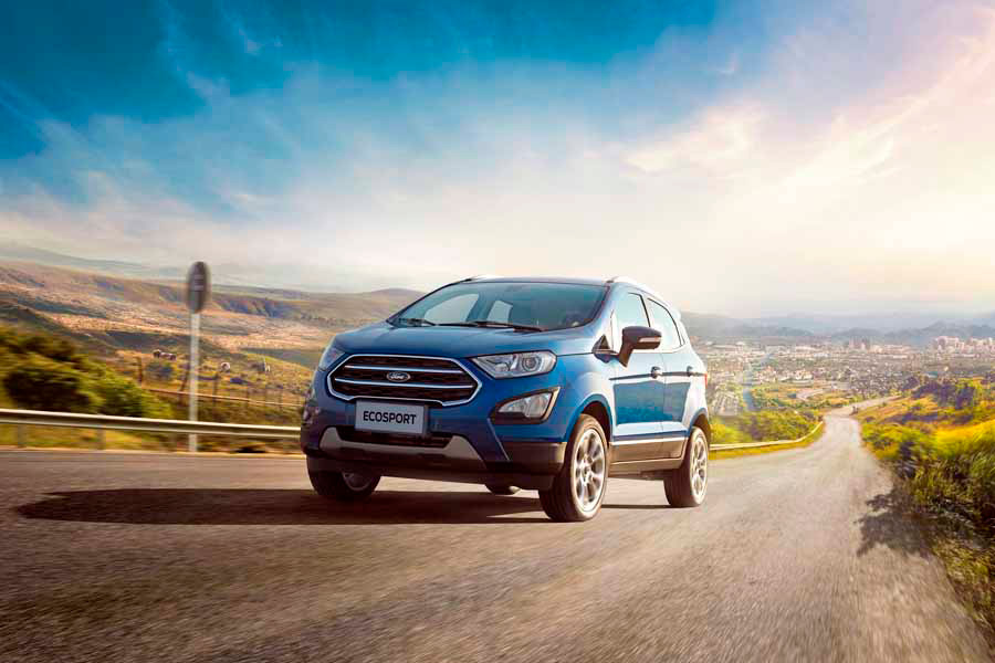 SUV New Ford EcoSport  llegó a Chile