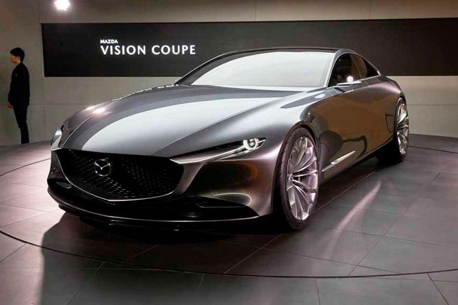 Mazda Vision Coupe Elegido Auto Mas Hermoso Del 2018 Mazda