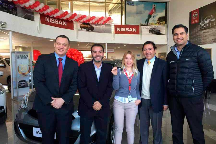 Chile Nissan, reconoce a sus mejores vendedores