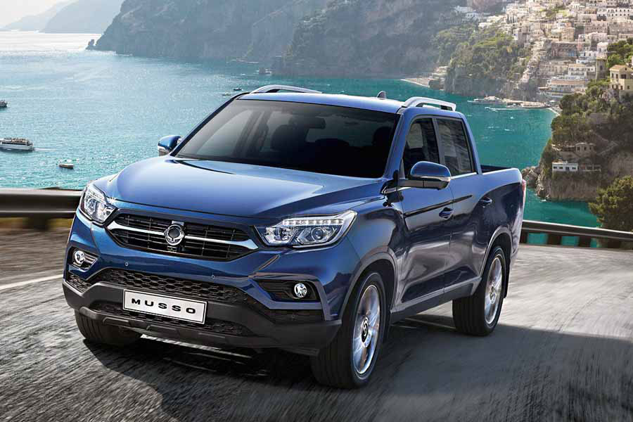 Ssangyong All New Musso, dos autos en uno, luce como pick up,  pero con performance SUV